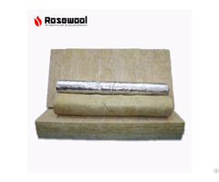 Rock Mineral Wool Felt With Aluminium Foil Fireproof Insulation Board