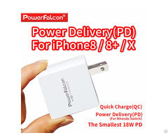 Powerfalcon 18w Usb C Pd Qc Charger
