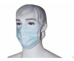 Nonwoven Face Mask With Tie