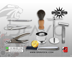 Hair Styling Scissors And Barber Razors