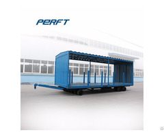 Heavy Industry Transporter Flexible Solid Covered Car Trailer 25t