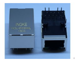 Ingke Ykgu 8500bnml 100% Cross 7499110124 Through Hole Gigabit Rj45 Jacks With Magnetics