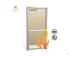 Ul Listed 20 Mins Fire Proof Wooden Door