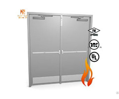 Ul Listed 90 Mins Fire Proof Steel Door