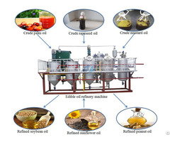 2tpd Edible Oil Refining Machine