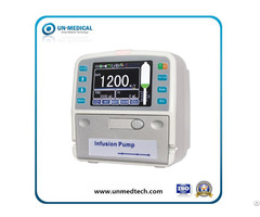 Multi Function Mini Portable Medical Syringe Infusion Pump With Touchscreen And Heating