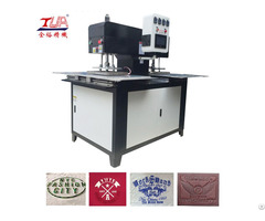 Embossed Leather High Frequency Equipment
