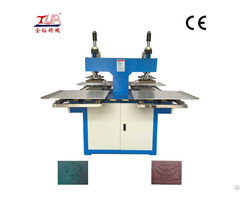 Silicone Leather Carved Embossing Machine Slide Hydraulic Molding Best