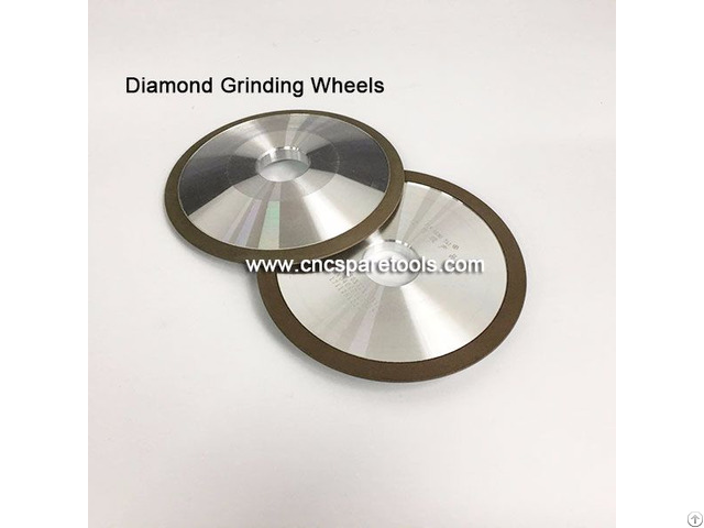 Diamond Resin Grinding Wheels For Carbide Wood Turning Blades Polishing