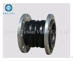"""Flanged Rubber Expansion Flexible Joints Compensator Dn2"""" Dn3"""" Dn4"""""""