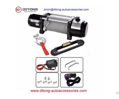 4x4 8000lbs Jeep Electric Winches 12v 24v Dc