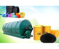 Waste Plastic Disposal Pyrolysis Plant