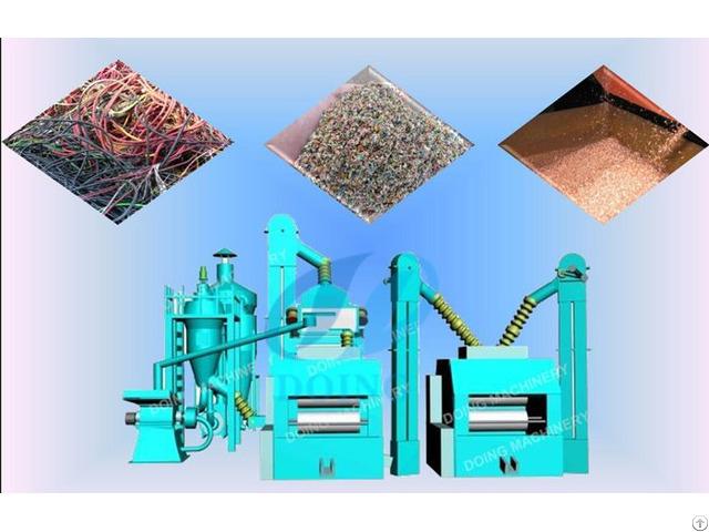 Scrap Copper Cable Wire Recycling Machine Zhengzhou