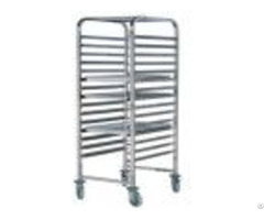 Stainless Steel Single Line Cake Cart