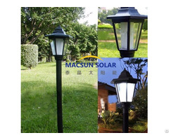 Durable And Llng Lifespan Solar Panel Yard Lights With Wholesales Price
