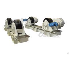200t Capacity Adjustable Turning Rolls