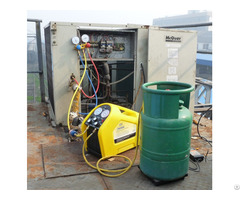 Fine Character Prompt A C Service Automatic Refrigerant Recovery Machine