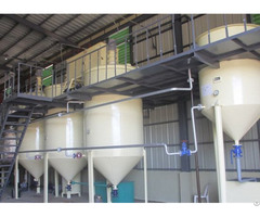 Small Scale Palm Oil Refining Machinery Hot Sale In Nigeria