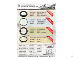 Cosmic Forklift Parts New No 344 Oil Seal