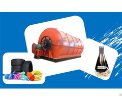 Pyrolysis Plant Convert Waste Tyre To Oil