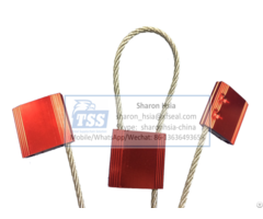 Truck Container Seals C Tpat Iso 17712 Compliant Cable 4 0mm Model No Tss Cf4 0t