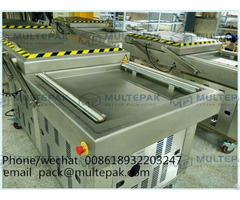 Automatic Double Chamber Food Vacuum Packaging Machine