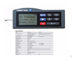 Popular Handheld Surface Roughness Tester Time®3200 3202 From Reliable Manufacturer