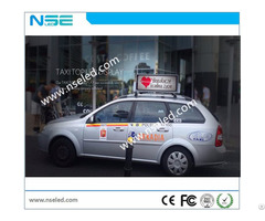 Taxi Top Advertising Led Display Sign