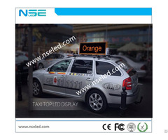 Taxi Roof Advertising Led Display Screen