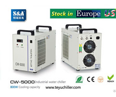 S And A Cw 5000 Water Chiller For Cooling Dental Cnc Engraving Machine