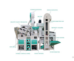 6ln 15 15sf 1 Ton Capacity Automatic Rice Mill Machine