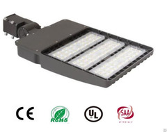300w Shoebox Light 90 277vac High Lumen Output 39000lumen Waterproof