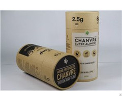 Wholesales Recycled Coffee Cardboard Tube Packaging With Lids