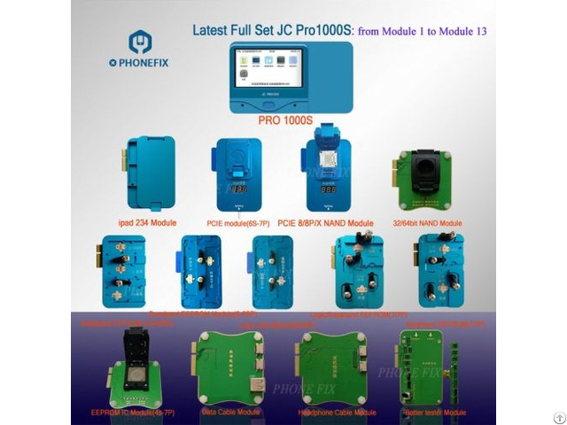 Jc Pro1000s Iphone Chip Programmer Mobile Phone Icloud