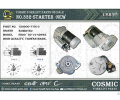 Cosmic Forklift Parts On Sale 332 Starter New