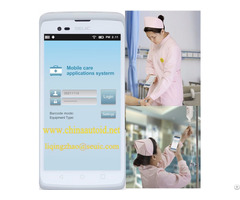 Handheld Industrial Pda With Barcode Scanning Function For Health Care Autoid Cruise