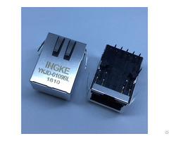 Ingke Ykjd 0109bl 100% Cross 7499211122a Through Hole Magnetic Rj45 Connectors
