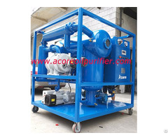 Transformer Oil Vacuum Dehydration And Degassing Plant