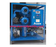High Vacuum Transformer Oil Purifier China