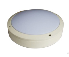 20w Round Led Ceiling Light Outdoor Ip65 300 90m 6000k White Powering Coating