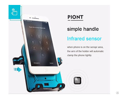 Infrade Sensor Cell Phone Holder For Car