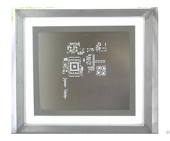 Chemical Etch Stencil Framed