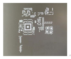 Chemical Etch Stencil Frameless