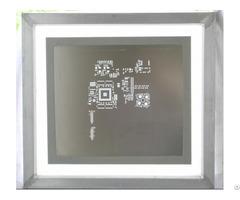 Laser Cut Stencil Framed