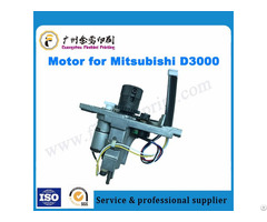 Mitsubishi D3000 Offset Printing Machine Ink Key Motor