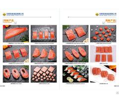 Frozen Chum Pink Salmon Fillet Portions