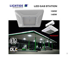 Lightide Led Gas Satation Light Etl Cetl Dlc 100w 140w