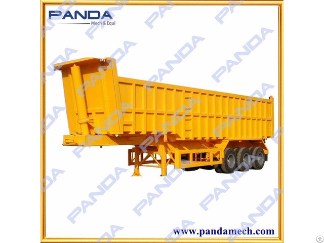 Panda 3 Axles 40 Tons Tipper Trailer For Sale