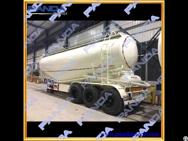Panda 3 Axles 50 Tons Bulk Cement Trailer