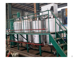 Complete Set Of Cottonseed Oil Refining Machine